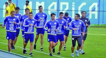 Paraguay comienza los entrenamientos