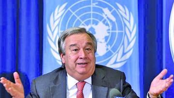 El Consejo de Seguridad designa a Guterres para estar al frente de la ONU
