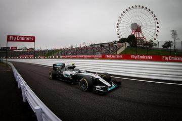 """Rosberg no falla en su cita con la """"pole"""" en el GP de Japón"""