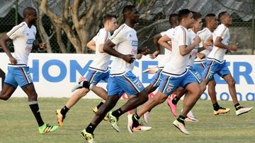 Colombia pone a prueba a Uruguay