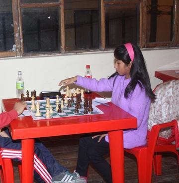 El ajedrez es la carta de oro para el departamento