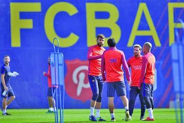 Messi puede tener minutos en el Barcelona
