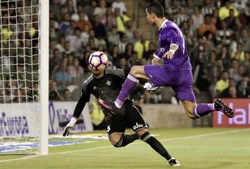 Real Madrid golea a Real Betis