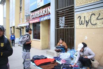 Los comerciantes denuncian abuso de gente de seguridad