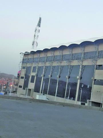"""Refaccionan el """"palco de honor"""" del estadio"""