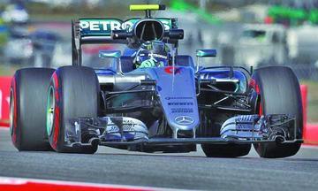 Rosberg fue el más rápido en EE.UU.