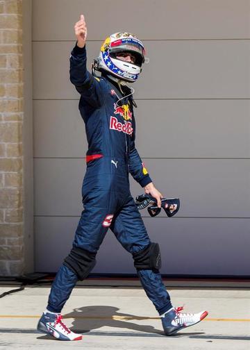 """Ricciardo: """"Austin es de los circuitos rápido"""""""