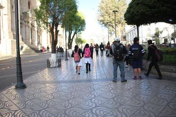 Choferes desaprueban proyecto de peatonalización en el centro