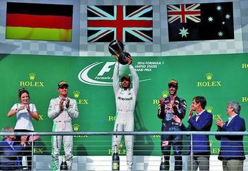 Hamilton gana el Gran Premio de Estados Unidos