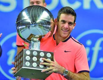 Del Potro gana su título treinta en tenis
