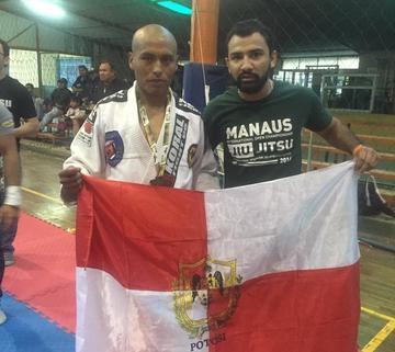 """Potosino ganó el torneo nacional de """"Open Jappin de Jui- Jitsu"""""""