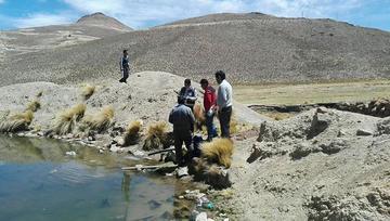 El agua hallada cerca de Plahipo  serviría para consumo humano