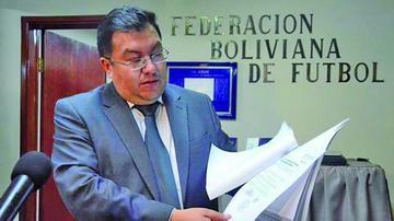 Torrico renuncia como secretario general de la FBF