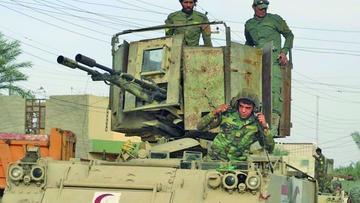 Yihadistas pretenden frenar a los aliados con bombas y trampas