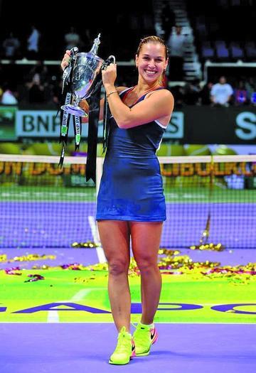 Cibulkova se corona campeona del Masters