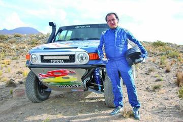 Orlando Careaga calienta motores para estar en el Dakar 2017