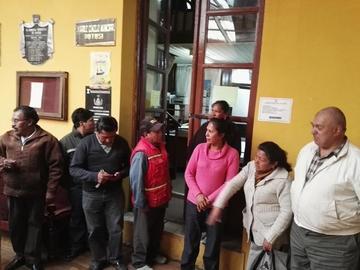 Dirigente cívico plantea dimisión a cargos de concejales munícipes