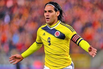 Falcao y Borja son las novedades de Colombia
