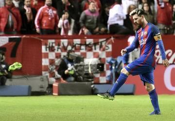 Messi marca su gol 500 con el Barcelona