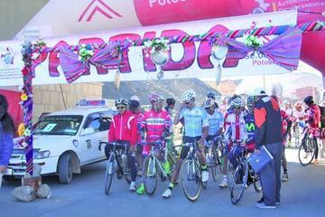 Vuelta a Potosí de ciclismo se postergó para el 17 de este mes