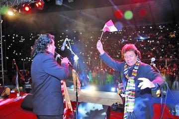 Potosí  festeja su aniversario con serenata