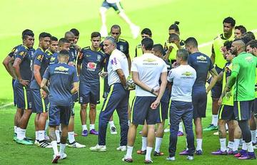 Brasil recibe a Argentina