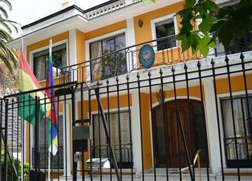 Dos dirigentes chilenos solicitan asilo en el Consulado de Bolivia