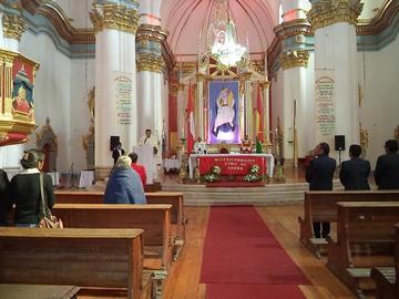 La Iglesia católica pide buscar el desarrollo integral de Potosí
