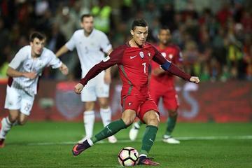 Portugal golea 4-1 a Letonia