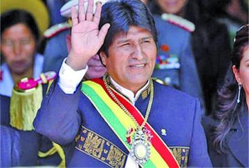 """Presidente Morales: """"no estoy preparado para irme a casa"""""""