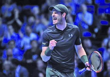 Murray vence a Cilic en el Masters de Londres