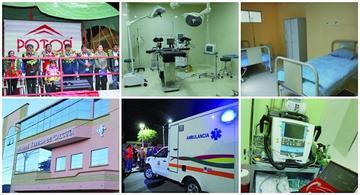 Entregan equipamiento para el Hospital Teresa de Calcuta