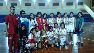 Selección potosina sube al podio en el campeonato nacional de básquet sub 14
