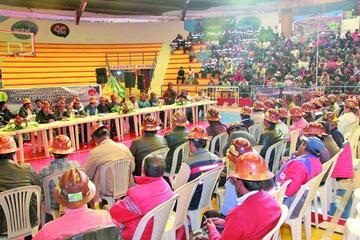 Cooperativistas mineros elegirán nueva directiva en su congreso orgánico