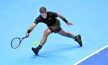 Murray vence a Nishikori en Londres