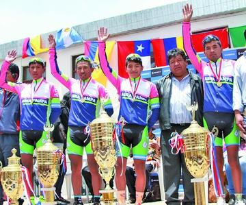 Argentinos siguen en competencia en la Vuelta Internacional a Potosí