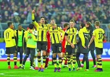 Borussia Dortmund vence a Bayern