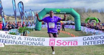 Toroitich consigue su tercer triunfo en el Cross de Soria