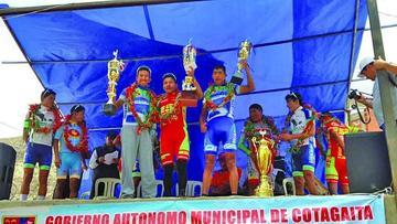 Cotumba se corona campeón de la Vuelta a Potosí de ciclismo