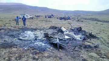 Policía confirma que la avioneta siniestrada era de narcotraficantes