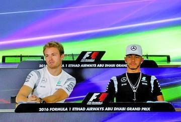 Hamilton y Rosberg van por el título