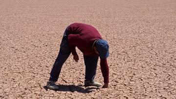 Lago Uru Uru desparece por la falta de agua en el Departamento de Oruro