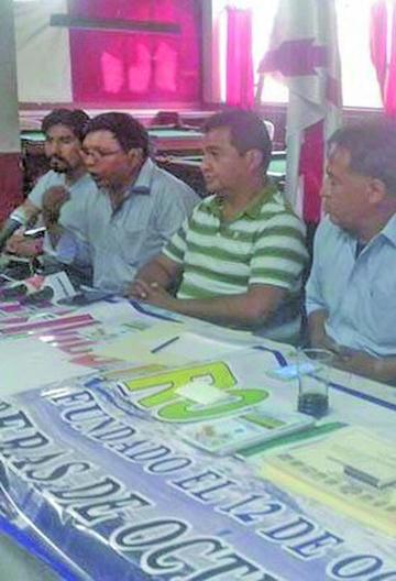 Cívicos de 7 ciudades llaman a una marcha por la crisis del agua