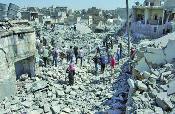 El Ejército sirio toma el control de un barrio del este de Alepo