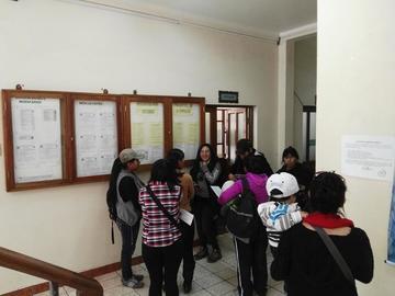 Medicina agota las plazas para su preuniversitario en la UATF