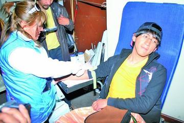 Alistan jornada de donantes voluntarios en Tupiza