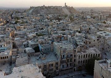 Disparos de proyectiles en Alepo matan a 34 civiles