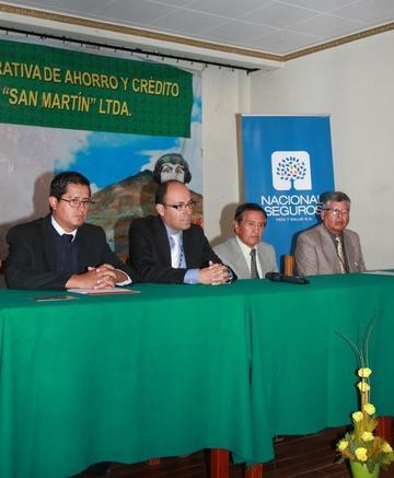 La cooperativa San Martín ofrece el seguro de sepelio