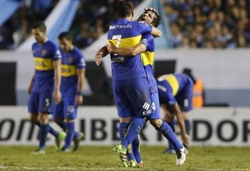 Boca vence a Racing para quedar como escolta de Estudiantes