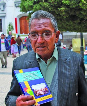 Difunden el libro con datos de la población de Tomave